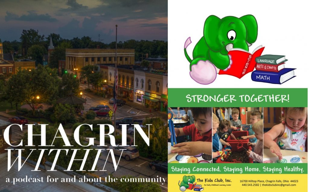 Maria Savransky From The Kids Club on Chagrin Within Podcast - Chagrin Within Podcast is for and about the Chagrin Falls, Ohio Community