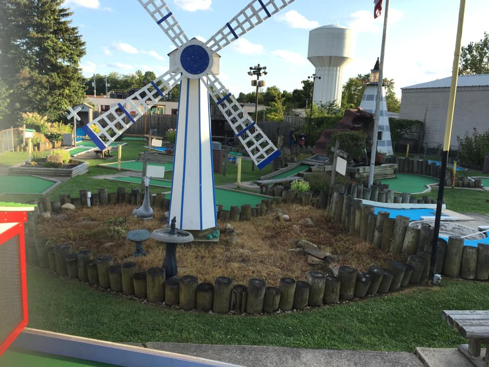 Fantasy Island Miniature Golf-Chagrin falls