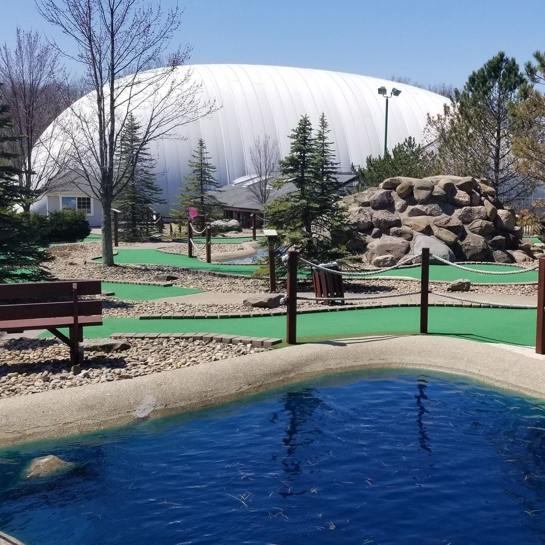 The Golf Dome-Chagrin Falls