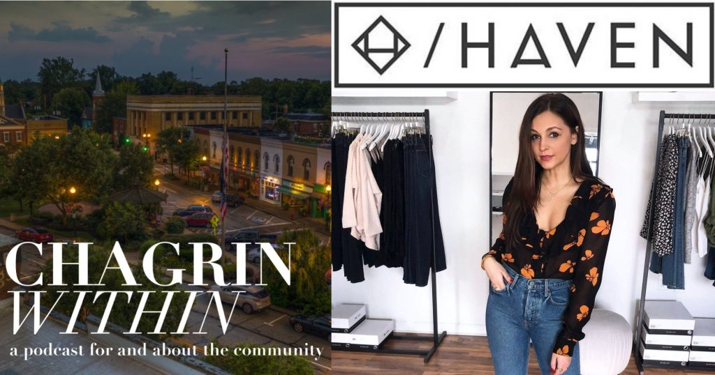 Cori Imbrigiotta From Haven on Chagrin Within Podcast - Chagrin Within Podcast is for and about the Chagrin Falls, Ohio Community