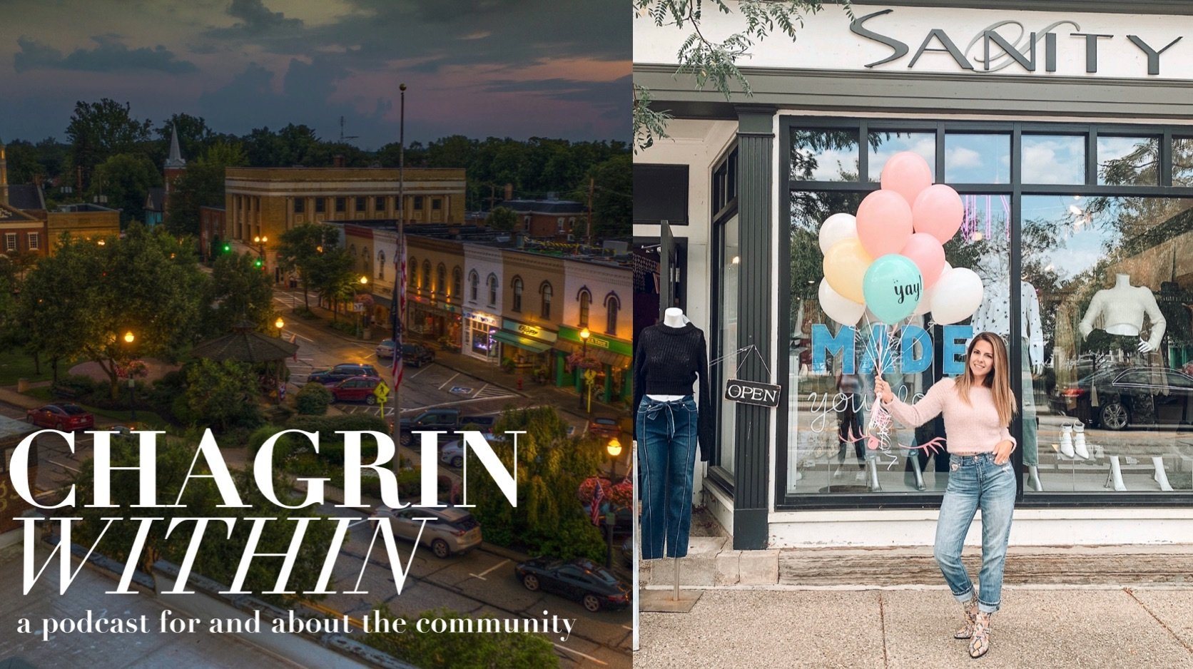 Isabel Pritchett from SANITY on Chagrin Within Podcast - Chagrin Within Podcast is for and about the Chagrin Falls, Ohio Community